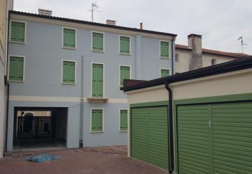 Intervento ristrutturazione di un palazzo a Lendinara