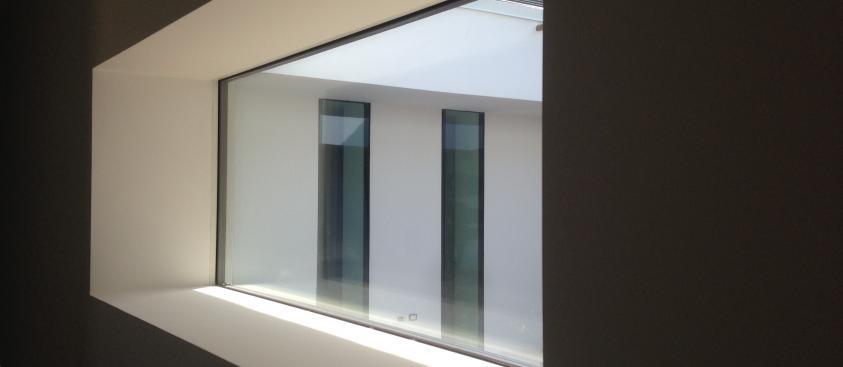 Dettaglio finestre patio